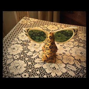 50's Bakelite Rhinestone Sunglasses